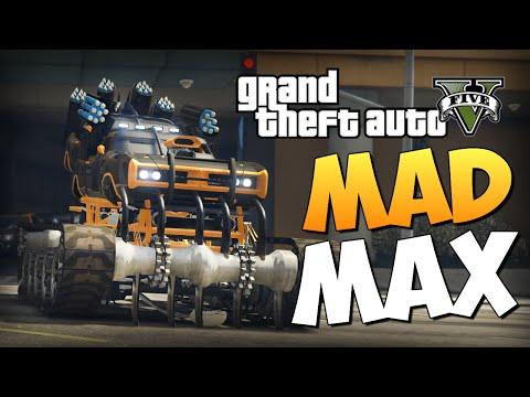 GTA 5 Mods : Dukes Warmachine - ТАЧКА MAD MAX
