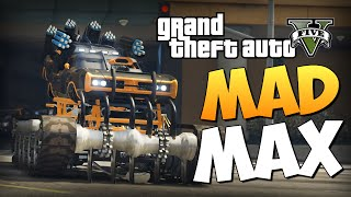 GTA 5 Mods : Dukes Warmachine - ТАЧКА MAD MAX