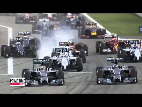 F1: Lewis Hamilton wins Bahrain GP for 2nd win
