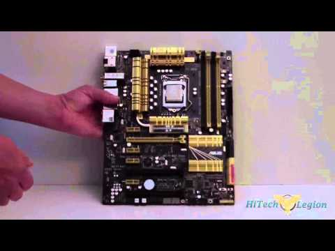 ASUS Z87-Deluxe Motherboard Unboxing + Review