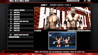 WWE Hell in a Cell Matchcard 06/11/2013 (20:34)