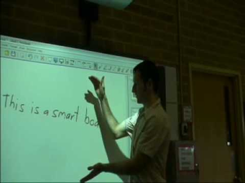 ARTS 2090 - Blackboards and Interactive whiteboards - Education