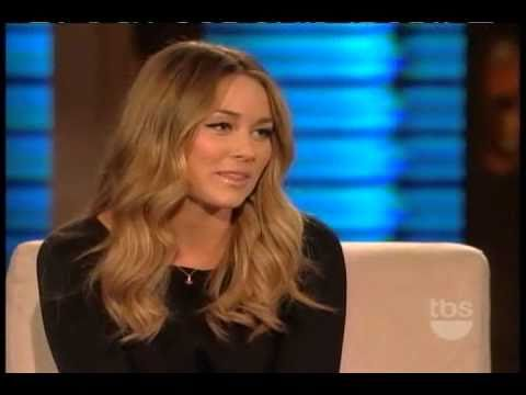 Lauren Conrad on Lopez Tonight 10/26/2010
