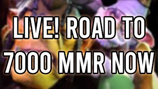 Road to 7000 MMR continues | Dota 2 Live Stream | Rawdota - Henry