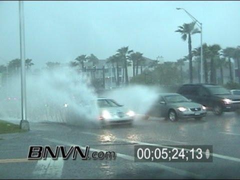2/27/2005 Sarasota FL, Thunder Storm Dash Cam Video