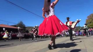 desfile Civico Aniversario Galvarino 2016