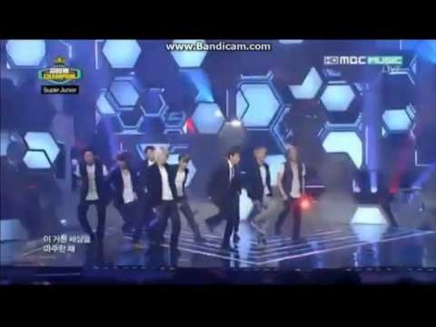 Super Junior - Sexy, Free & Single  Mbc Show Champion.mp4 video