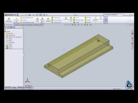 SolidWorks. Tutorial 1. Vista general. CdM