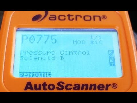 Ford Explorer:  How  to pass inspection with the P0775 code (Works in NY. PA and MD)