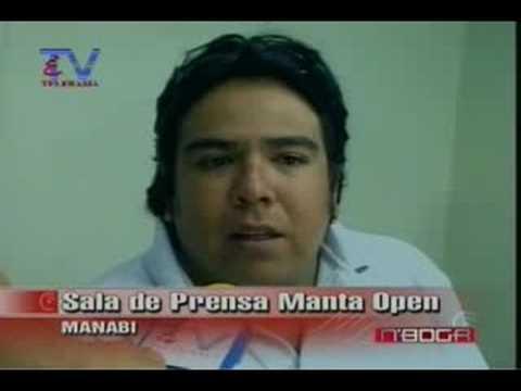 Sala de prensa Manta Open