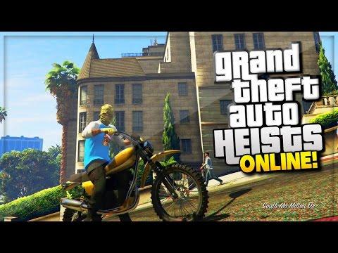 GTA 5 Heist Online Update Gameplay & Review! (GTA 5 Online Heist HYDRA & Savage Gameplay)