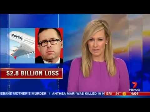 CH7: Qantas $2 8b loss