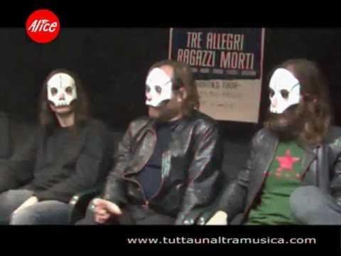 Tre Allegri Ragazzi Morti - Intervista + Live @ Hiroshima Mon Amour 2008