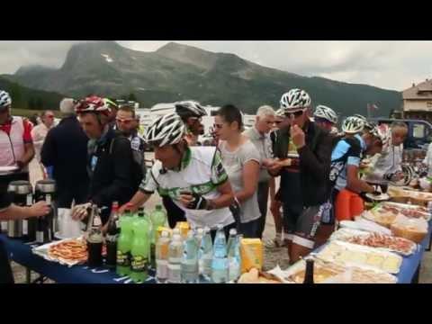 Matteo Trentin dal Tour de France a Passo Rolle