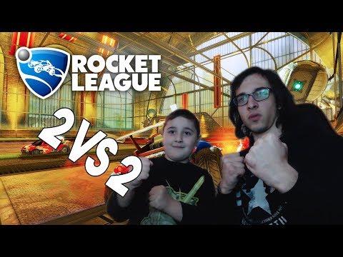 NikaTMG და დათუნა(ძმა) VS. Pro Players? | Rocket League ქართულად