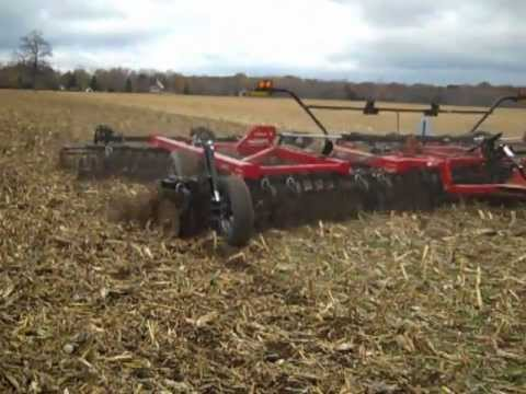 Vertical Tillage Tools in Action