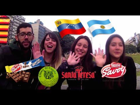 Argentinas probando productos Venezolanos | TopoMagico