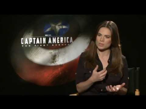 Captain America - Interviews with Chris Evans, Hayley Atwell and more - The Inside Reel