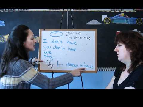 Lesson 33- Negative Forms of HAVE - Learn English with Jennifer