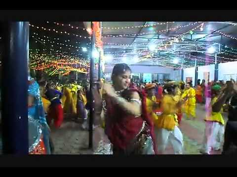Sehore Blue Bird School Garba Mahotsav 10 Oct E video