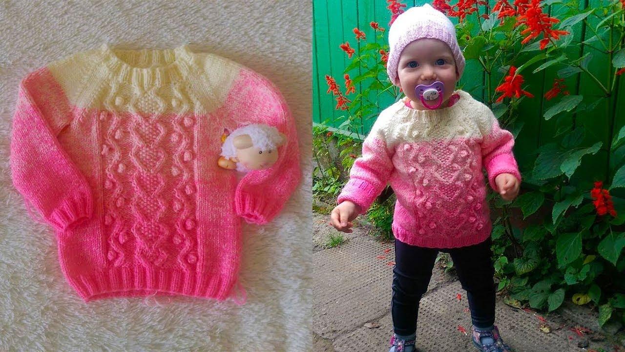 Я мастерица вязание спицами для девочек 3 лет