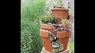 18 kreative Gartenideen -- Gebrauchte Möbel als Gartendeko benutzen