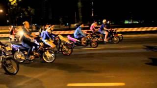 Đua xe đêm Noel - Việt Nam Xmas 2015 (VNRCB TV)