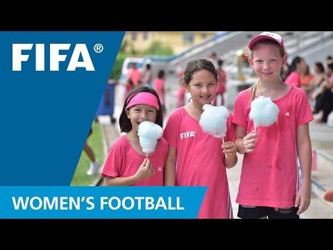 Bringing football to Singapore's girls
