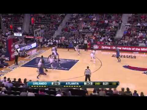 Atlanta Hawks vs Orlando Magic // 30.03.13 // First Half Highlights // NBA Maniacs