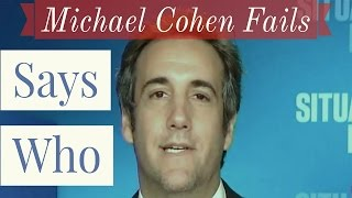 Trump's Lawyer Michael Cohen Fails at Polls Question
