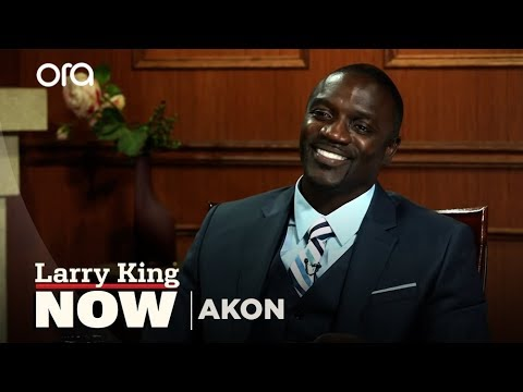 Akon On larry King Now - Full Episode Available In The U.s. On Ora.tv video