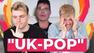 "Simon Cowell's ""UK-Pop"" vs K-Pop"