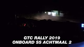 ONBOARD GTC Rally 2019 Achtmaal 2 | BMW M3 E36 Franky Boulat & Peggy de Busser