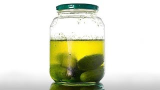 Stop Throwing Pickle Juice Out, Instead Drink It.  Here