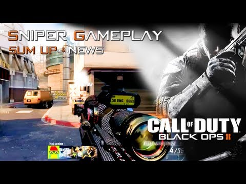 "Black OPS 2 : Sniper Gameplay w/DSR - ""Sum-up & News"" by Rohn"