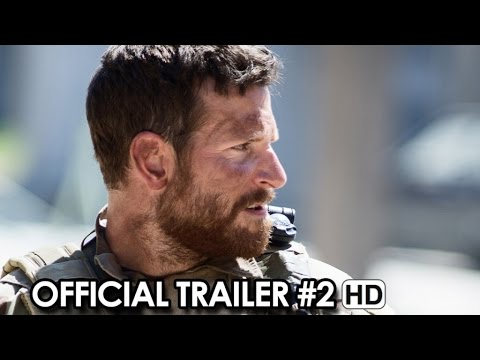 American Sniper Official Trailer #2 (2015) - Bradley Cooper, Clint Eastwood HD