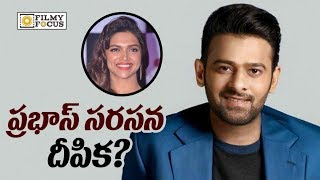 Prabhas to Romance Deepika Padukone in his Next Movie after Saaho