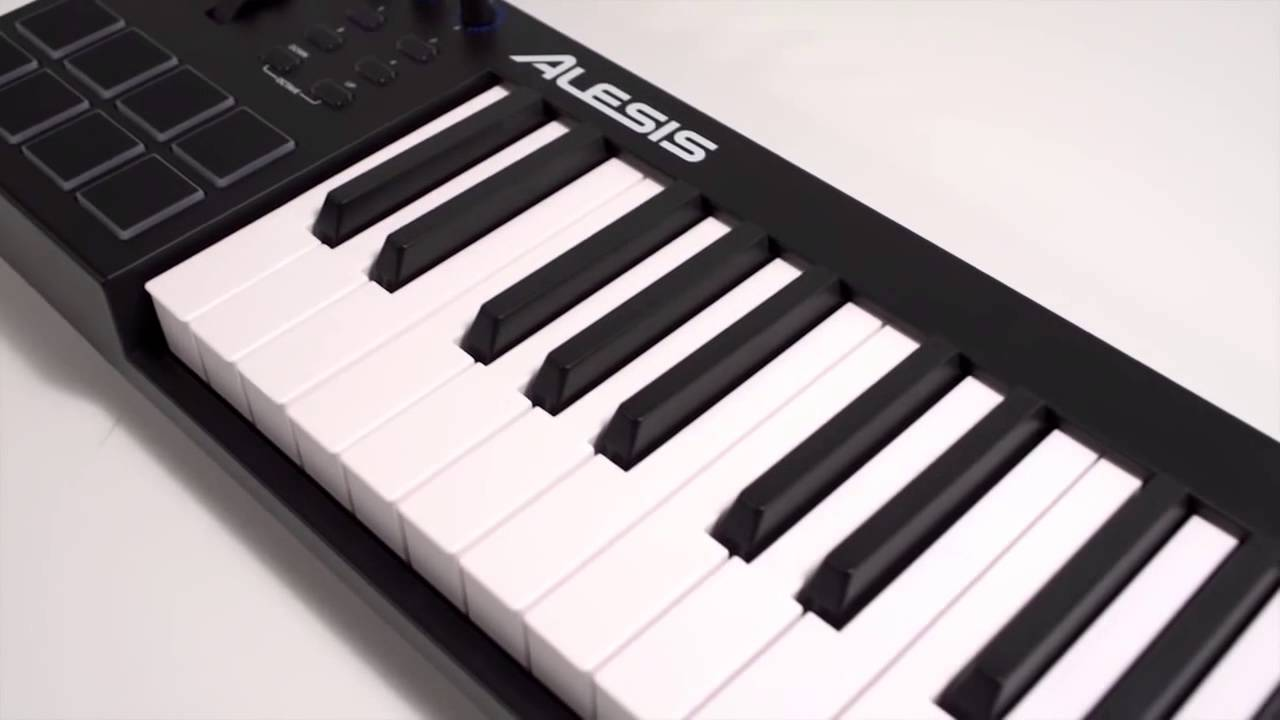 alesis v49 clavier ma tre usb midi 49 notes la boite noire youtube. Black Bedroom Furniture Sets. Home Design Ideas