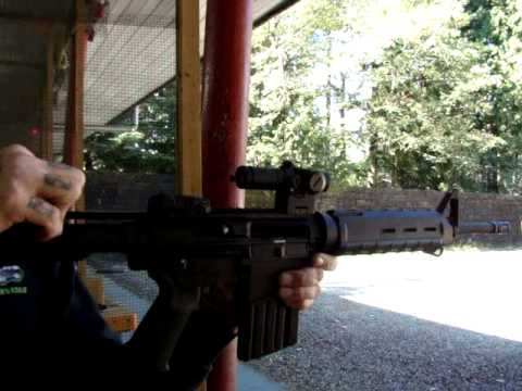 Shooting The BushMaster AR-10 .308 Caliber Rifle