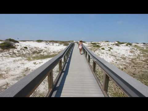 SoWal Beach Access - Grayton Beach State Park at Grayton Beach, Florida