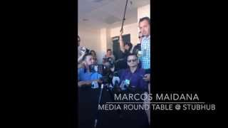 Marcos Maidana Talks About His Mistakes In The First Mayweather Fight