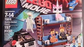 The Lego Movie, Double Decker Couch Lego Set # 70818