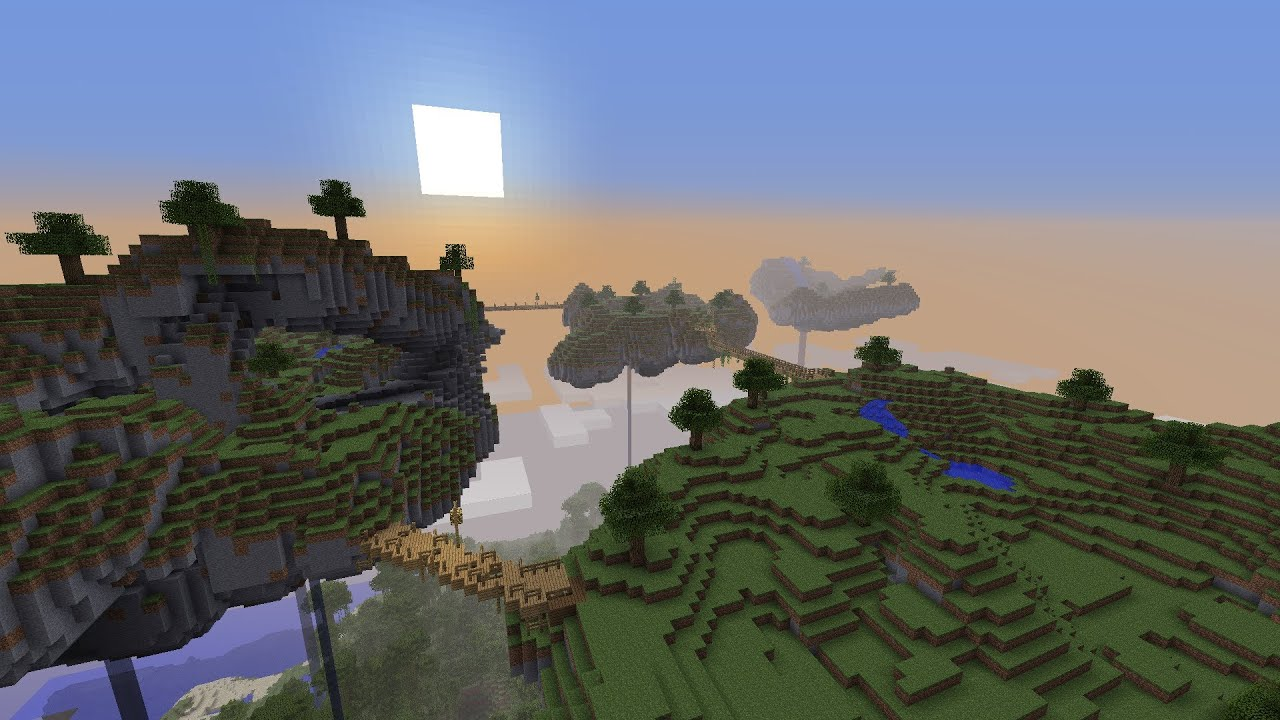 Minecraft The Skylands Hunger Games Map Pack Download