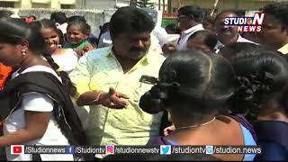 Amadalavalasa TDP MLA Distributed Cycles To Students