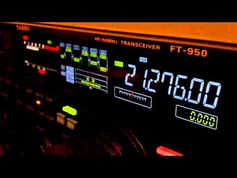 Ham Radio DX QSO ER4DX Yaesu FT-950 15 Meters SSB
