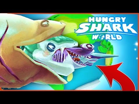TOP 5 EASTER EGGS! - Hungry Shark World - EPIC NEW HUNGRY SHARK WORLD SECRETS (IOS/ANDROID)