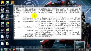 How to full screen turbo c++ in windows 7(64 and 32 bit).mp4