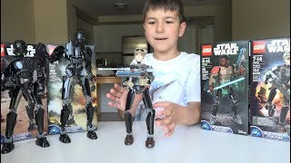 Lego Star Wars 75119 Sergeant Jyn Erso review on kids channel SanSanychTV