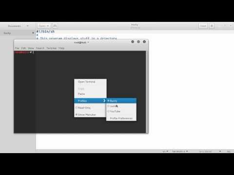 Linux Tutorial for Beginners - 20 - Shell Script Basics