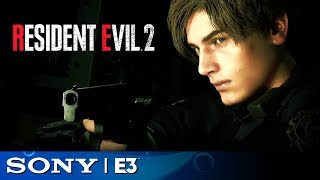 Resident Evil 2 Full Reveal | Sony E3 2018